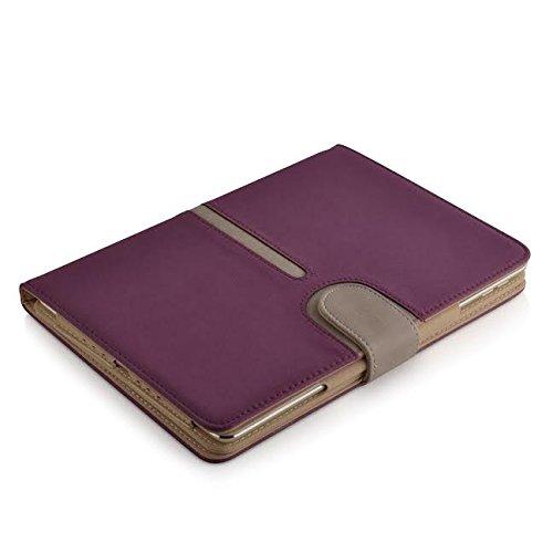 Jellybean Portefeuille en cuir Housse pour iPad 2/3 et 4 violet