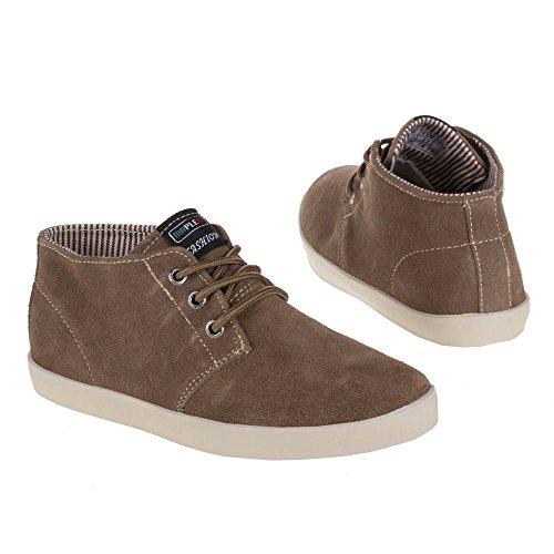 Damen und Herren Schuhe, 8668-1, FREIZEITSCHUHE Braun 8668-1