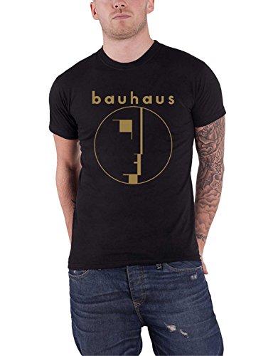 Bauhaus T Shirt Spirit Band Logo Gold Nue offiziell Herren