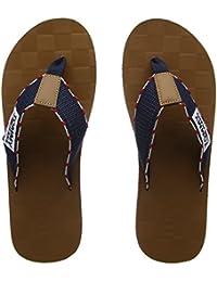 Hilfiger Denim Herren Tj Leather Footbed Beach Sandal Zehentrenner