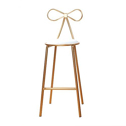Klappstuhl QFFL Hocker Eisen Barhocker einfache hohe Hocker lässig Esszimmerstuhl Größe Optional Outdoor Hocker (Farbe : 2#) -