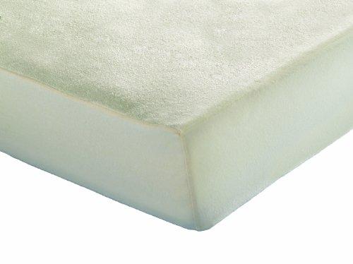Inch Protector de colchón impermeable de rizo de bambú ultraabsorbente - 70 x 140 cm