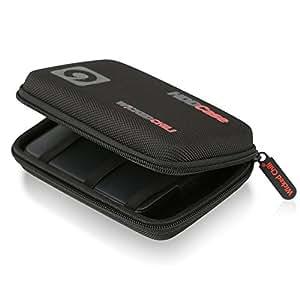 """Wicked Chili 2,5"""" HDD Case, Festplattentasche für 2.5 Zoll Festplatte und SSD (Tasche mit Kabelfach, Innenmaß: 12,8 x 8,3 x 3,5 cm)"""