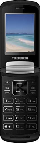 Telefunken TM28.1 Classy - Móvil de Teclas Grandes (2.4') Color Negro