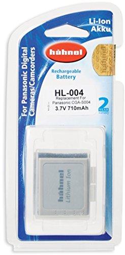 Hähnel HL 004 3,7V 710mAh Li-Ionen Ersatzakku Typ Panasonic CGA-S004 für Lumix FX2, FX7 710 Mah Lithium-batterie