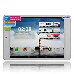 Ampe A88 Mini Quad Core A31S 1.2GHz 7.9 Inch IPS Android 4.1 Tablet --- Color:White