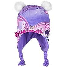 Disney Bambine e ragazze Minnie Mouse Cappello invernale peruviano 52-54 cm 9b0dd92bf16e