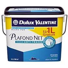 DULUX VALENTINE VAL.PLAFOND NET MONO 5L+1L G BLANC