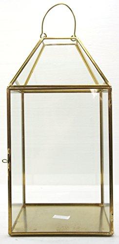 My Planet Yankee Candle Yankee Candle - Portavelas de Cristal Transparente metálico de Gran Tamaño para Celebración, Accesorio de Decoración – Vela no incluida