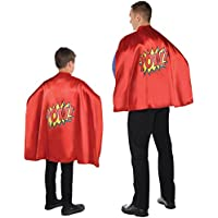 Christys Dress Up Adults Childrens Comic Book Super Hero Cape Costume Accessory by Amscan
