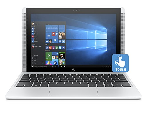"HP Pavilion x2 10-n105nl Notebook, Display Touchscreen 10.1"", Processore Intel Atom Z8300, RAM 2 GB, eMMC da 32 GB, Intel Graphics HD, Windows 10, Bianco"