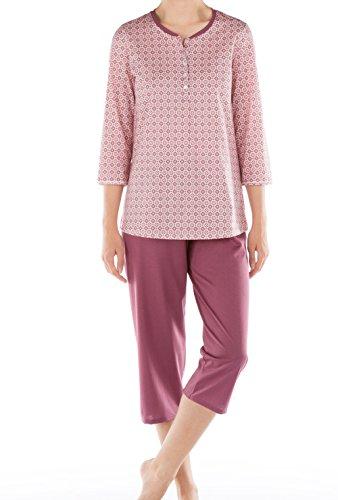 CALIDA - Pyjama corsaire pour femme Torino feminine rose