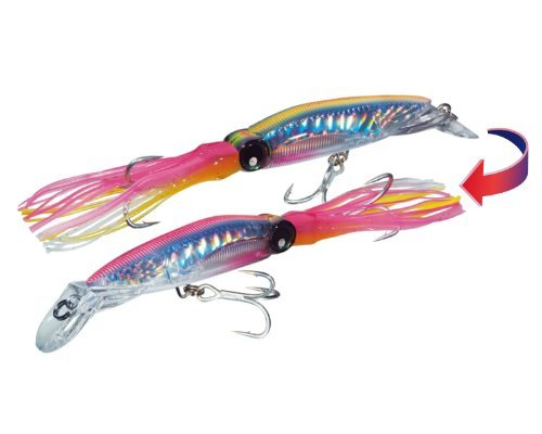 yo-zuri-sashimi-3d-squirt-lure-chameleon-hot-pink-7-1-2-inch-by-yo-zuri