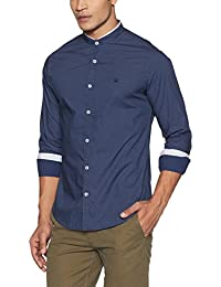 United Colors of Benetton Men's Printed Slim Fit Cotton Casual Shirt