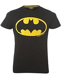 Batman pour homme Symbole Imprimé T pour homme col ras du cou Femme