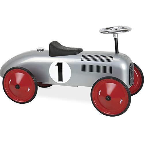 Vilac - Porteur voiture en métal gris - 1117