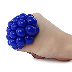 Zorbes Grape Vent Ball Stress Relief Squeezing Toy