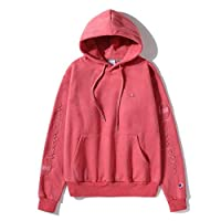 Champion Pullover Pink hoodie for lady Ins Hot Hooded Sweatshirt For girl and women