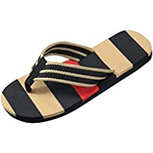 Sandalias para hombre, RETUROM Los hombres de verano de rayas de interior o al aire libre sandalias zapatos