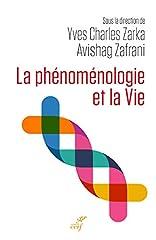 estimation pour le livre La phénoménologie et la Vie