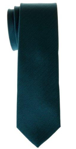 Corbata microfibra rayas Verde oscuro