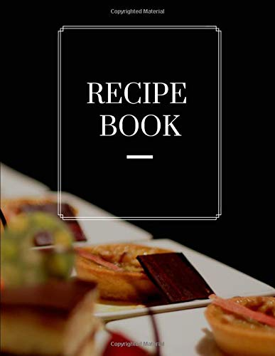 recipe book: This book is for Record information Food transaction For ease of recording Store recipes such as recipe cards and page protectors for ... cookbook holder clear or fashion books set Clear Mule