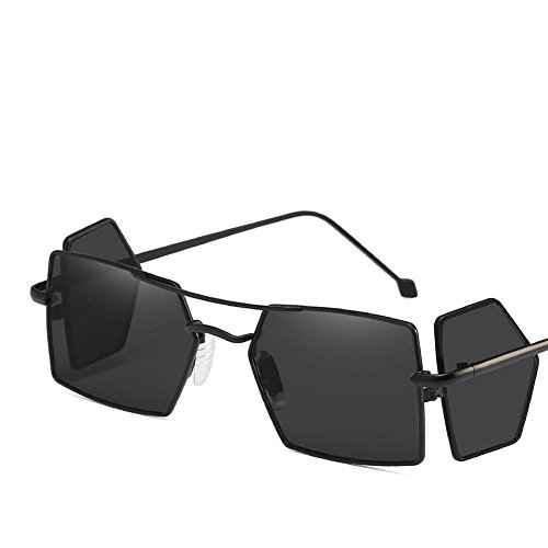 Aoligei Double-couleur galvanoplastique homme Polarized lunettes de soleil lunettes de soleil pilote lunettes de soleil QZVgpoTyc