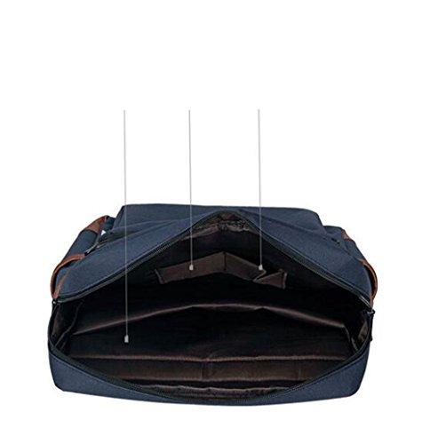 Vintage Unisex Casual Canvas Rucksack Rucksack Schultasche Ranzen Tasche Wandern Weinrot