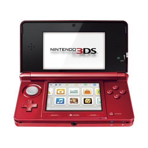 Console Nintendo 3DS - rouge métal