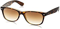 Ray-Ban Wayfarer Sunglasses (Brown Gradient) (RB2132|710/51|55)