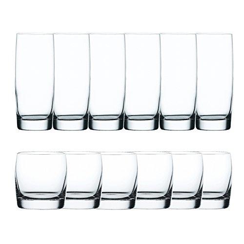 Spiegelau & Nachtmann 12-teiliges Universalgläser-Set, Kristallglas, 550 ml, Vivendi, 0090091-0