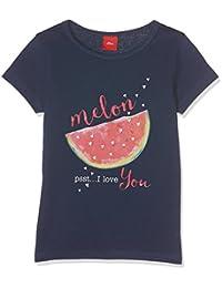 s.Oliver Mädchen T-Shirt 53.705.32.4992