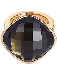 Esprit - ESRG11568B - Impressive Brown - Bague Femme - Acier inoxydable 14.62 gr - Verre - Marron