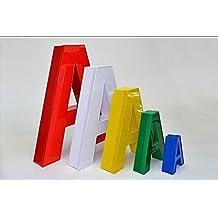 Leuchtbuchstaben, 3D-Buchstaben, Leuchtwerbung, Außenwerbung, Frontleuchter, 1 Buchstabe 300 mm Höhe, Profil 5 - Buchstaben
