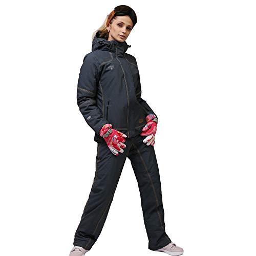 Zongsi Skianzug Frauen Anzug Dicke Wasserdichte Warme Atmungsaktive Frauen Winter Outdoor Einzel- und Doppel-Board-Daunenjacke