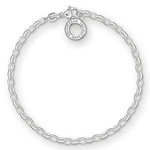 Thomas Sabo Charm Armband Silber X0163-M 17,5 cm