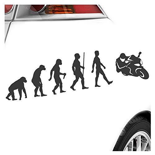 Kiwistar Evolution - Adesivo per Moto, 25 Colori Fluo Opaco