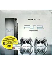 Playstation 2 - Konsole silber (inkl. 2 Pads)
