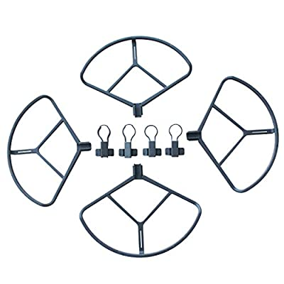 DJI Mavic Propeller Guard Protector [UK Stock], 4 Pcs DJI Mavic Pro Quick Release Prop Protective Bumpers, Protecting Propeller Damage from Crash from Yangers