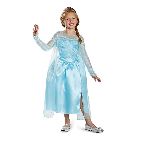 Click for larger image of Frozen Disney Classic Elsa Snow Queen Gown Child Costume S (4-6x)