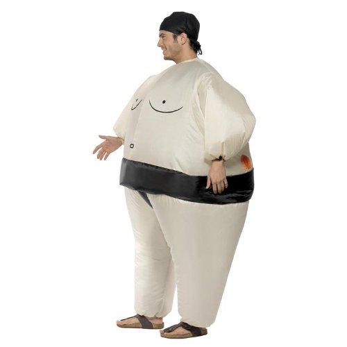 Imagen de smiffy's  disfraz de sumo inflable , talla única sm34501  alternativa