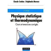 Physique statistique et thermodynamique