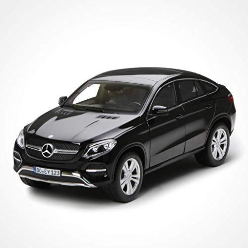 KaKaDz 1:18 Mercedes - Mercedes-Benz GLE Coupe Coupe Simulation Legierung Automodell Sport Automodell Ornamente (Color : Black)