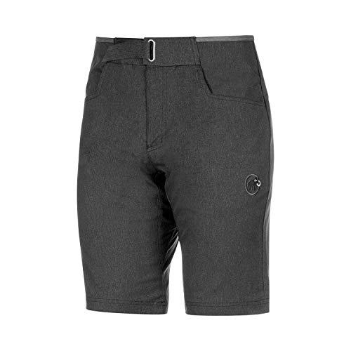 Mammut Herren Kletter-Hose, Schwarz (black mélange), 52 (Shorts Kletter-t-shirt)