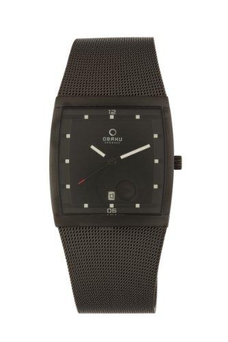 Obaku By Ingersoll Men's Stainless Steel Black Mesh Watch V102GBBMB