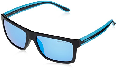 Lenyo Lunettes de sport - black matt-blue