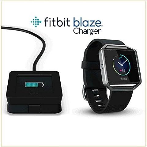 Remplazo del cable cargador USB EXINOZ® Fitbit. Cargue su pulsera de actividad inalámbrica Fitbit Blaze (1 Pack)