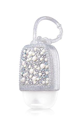 Bath & Body Works PocketBac Holder Bling Pearl Silver