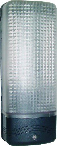 Byron Elro ES81 GLS / 13W ES Lampe de protection en plastique avec capteur de lumière 60W Noir