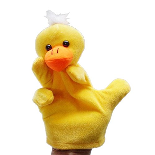 Kuhu Creations® Supreme Imagination Stories Puppet. (MHP Duck Yellow)